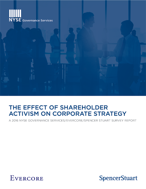 effect of m a strategy on shareholder value Planning for a successful merger or acquisition: lessons from an shareholder value the literature on the effect of aligning corporate strategy and m.